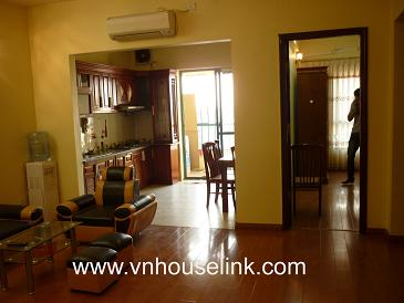 Nice apartment for rent in My Dinh Song Da!