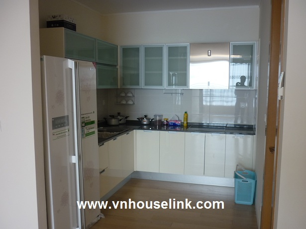 Partly furnished apartment in Keangnam Tower,Pham Hung Str for rent! 1